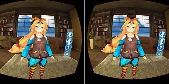 校花同居日记VR游戏手机安卓下载图1: