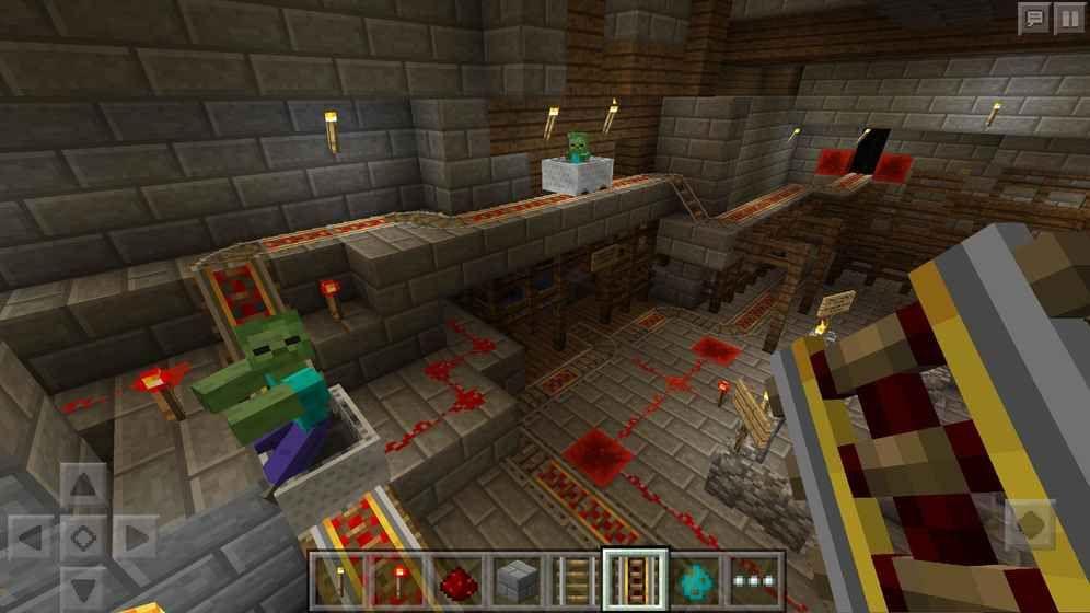 我的世界1.1.5.1版本官方最新游戏下载(Minecraft)图4: