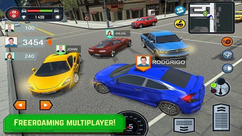 汽车驾驶学校模拟器游戏安卓版下载(Car Driving School Simulator)图2: