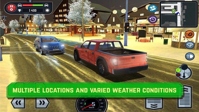 汽车驾驶学校模拟器游戏安卓版下载(Car Driving School Simulator)图4: