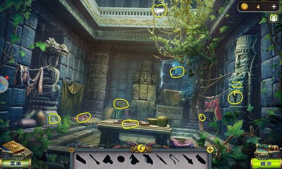 密室逃脱5逃出博物馆第六关攻略 乌云密布的金字塔图文通关教程[多图]图片4