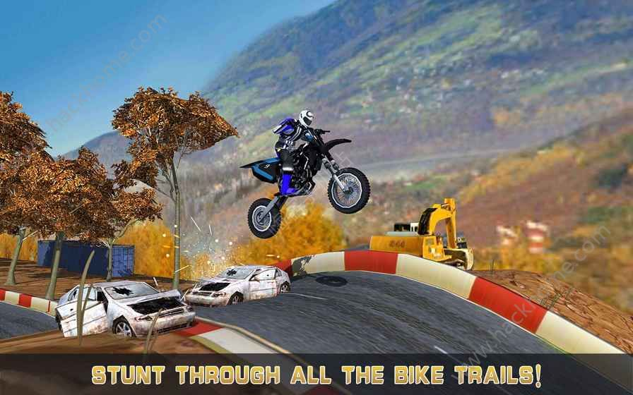 疯狂山地摩托车赛游戏安卓版图1: