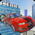抖音高空特技赛道游戏安卓中文版(Smash Car Hit) v1.2