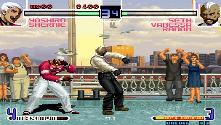 拳皇2002魔幻加强版下载图1: