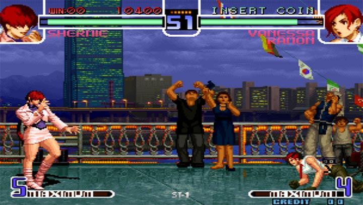 拳皇2002魔幻加强版下载图3: