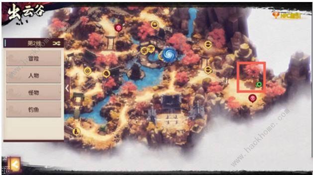侍魂胧月传说采茶之道在哪 采茶之道位置介绍[多图]图片2