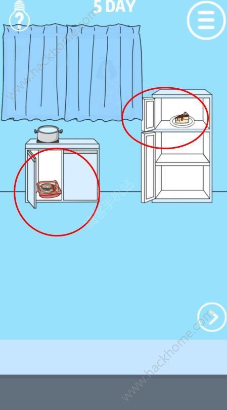 妈妈把我的泡面藏起来了第五关攻略 蛋糕图文通关教程[多图]图片1_嗨客手机站