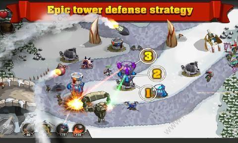 防御之王安卓游戏下载(King of Defense)图2: