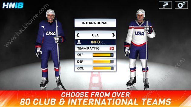 冰球联赛18安卓游戏下载(Hockey Nations 18)图2: