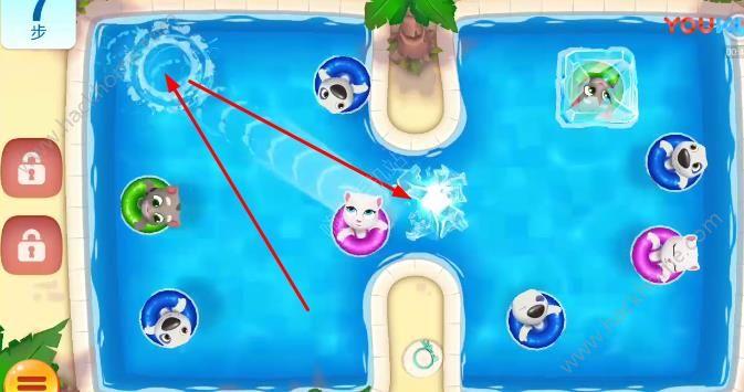 汤姆猫水上乐园14关怎么过? 第14关图文通关教程[多图]图片4_嗨客手机站