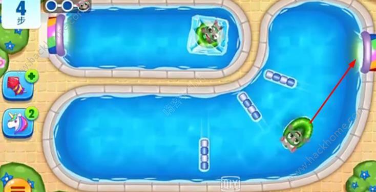 汤姆猫水上乐园178关怎么过? 第178关图文通关教程[多图]图片8_嗨客手机站