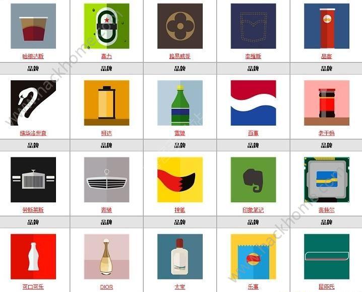 微信疯狂猜品牌答案大全 疯狂猜品牌全部答案图文汇总[多图]图片7_嗨客手机站