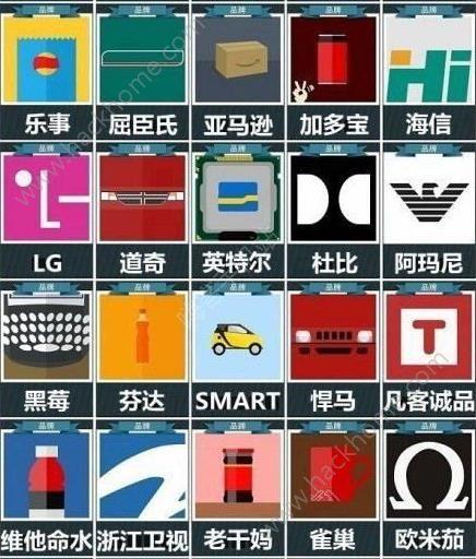微信疯狂猜品牌答案大全 疯狂猜品牌全部答案图文汇总[多图]图片5_嗨客手机站