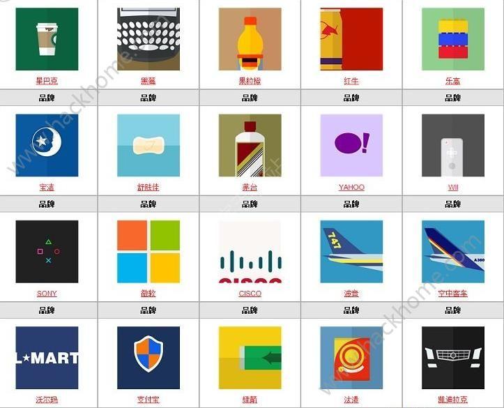 微信疯狂猜品牌答案大全 疯狂猜品牌全部答案图文汇总[多图]图片8_嗨客手机站