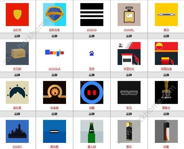 微信疯狂猜品牌答案大全 疯狂猜品牌全部答案图文汇总[多图]图片6_嗨客手机站