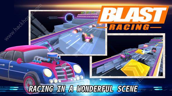 爆破赛车无限金币破解版(Blast Racing)图4: