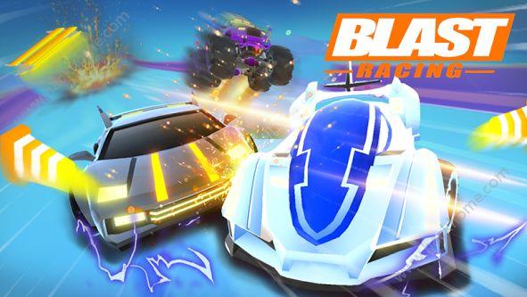 爆破赛车无限金币破解版(Blast Racing)图5: