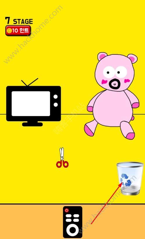手机被妈妈藏起来了第七关攻略 玩具熊图文通关教程[多图]图片1_嗨客手机站