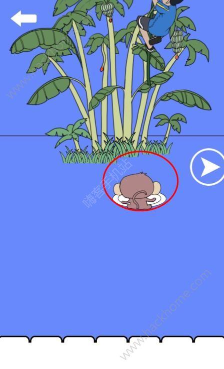 谁动了我的菊花2第二关攻略 猴子图文通关教程[多图]图片2_嗨客手机站