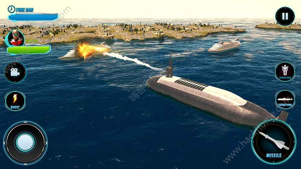 俄罗斯潜艇机器人游戏安卓版下载图1: