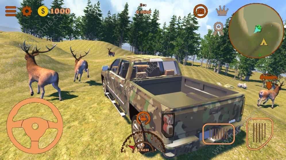 美国狩猎游戏安卓正式版下载(American Hunting 4x4 Deer)图4: