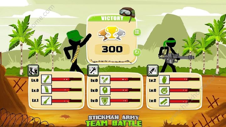 火柴人军队团队战斗游戏安卓版下载图1: