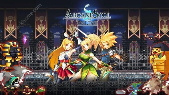 秘灵之剑online手游官网下载(Arcane Soul Online)图1: