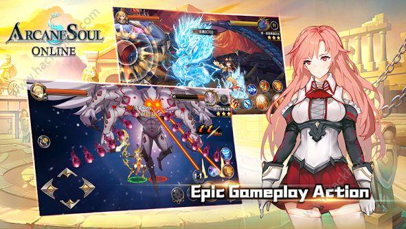 神秘之剑online游戏官网正式版(Arcane Soul Online)图4: