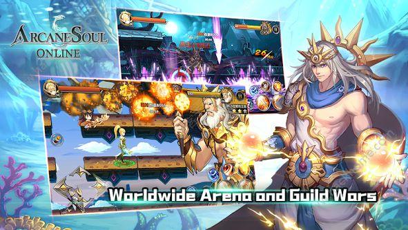 神秘之剑online游戏官网正式版(Arcane Soul Online)图5: