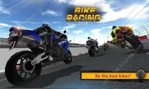 摩托车赛2018无限金币内购破解版(Bike racing 2018)图1: