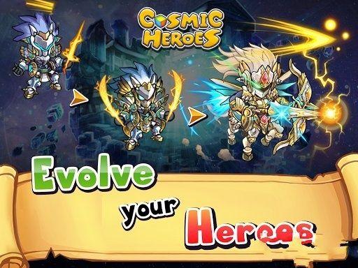 宇宙英雄3D(Cosmic Heroes)游戏官方网站图3: