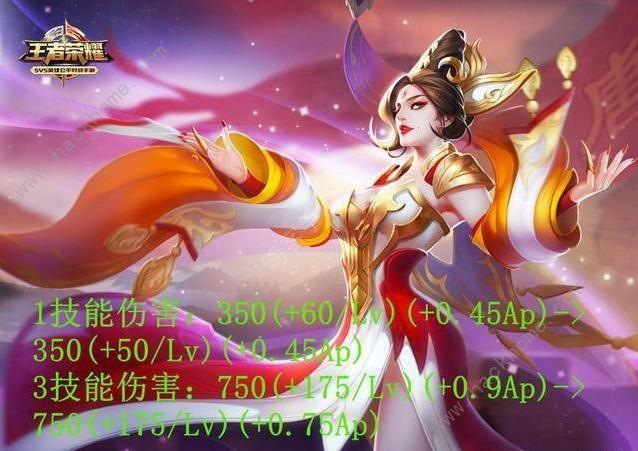 王者荣耀5月22日体验服更新公告 三名英雄将被调整[多图]图片2