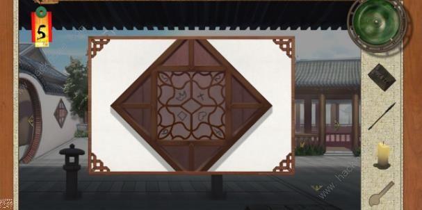 密室逃脱绝境系列3画仙奇缘纽扣盒子怎么转?[多图]图片3_嗨客手机站