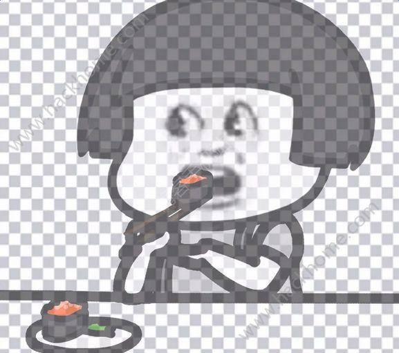 抖音我真的好饿蘑菇头表情包大全图片4_嗨客手机站图片