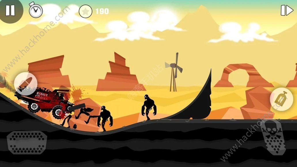 僵尸競賽無限金幣中文破解版(Zombie Race)圖片1_嗨客手機站