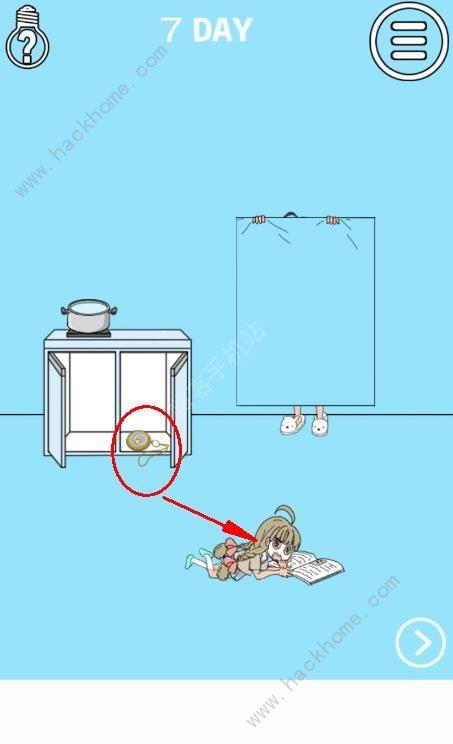 妈妈把我的泡面藏起来了3第七关攻略 面膜图文通关教程[多图]图片1