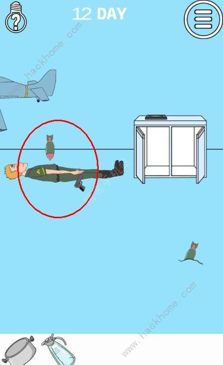 妈妈把我的泡面藏起来了3第12关攻略 炮弹图文通关教程[多图]图片2
