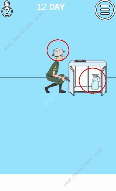 妈妈把我的泡面藏起来了3第12关攻略 炮弹图文通关教程[多图]图片1