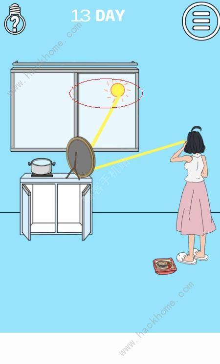 妈妈把我的泡面藏起来了3第13关攻略 镜子图文通关教程[多图]图片2