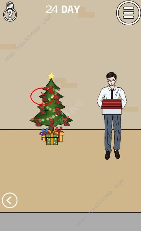 妈妈不让我看电视第24关攻略 圣诞袜图文通关教程[多图]图片1