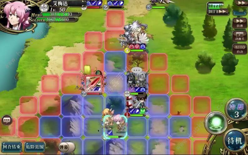 梦幻模拟战手游一万个波赞鲁怎么打? 一万个波赞鲁通关打法详解[视频][多图]图片2