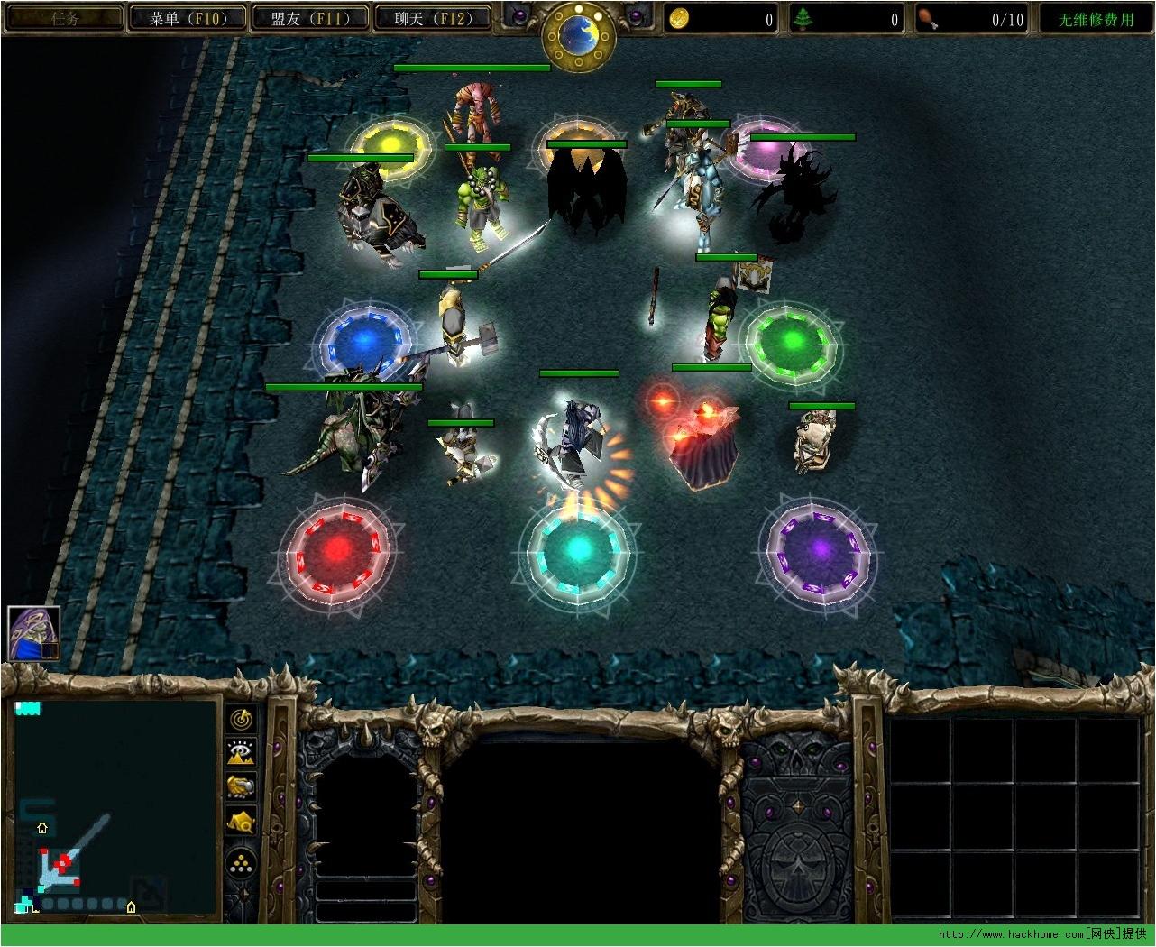 魔兽争霸3rpg地图包_魔兽RPG地图下载