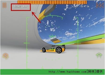《火箭飞车2》IPhone/IPad版八门神器刷分图文教程[多图]