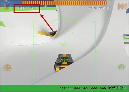《火箭飞车2》IPhone/IPad版八门神器刷分图文教程[多图]图片3_嗨客手机站