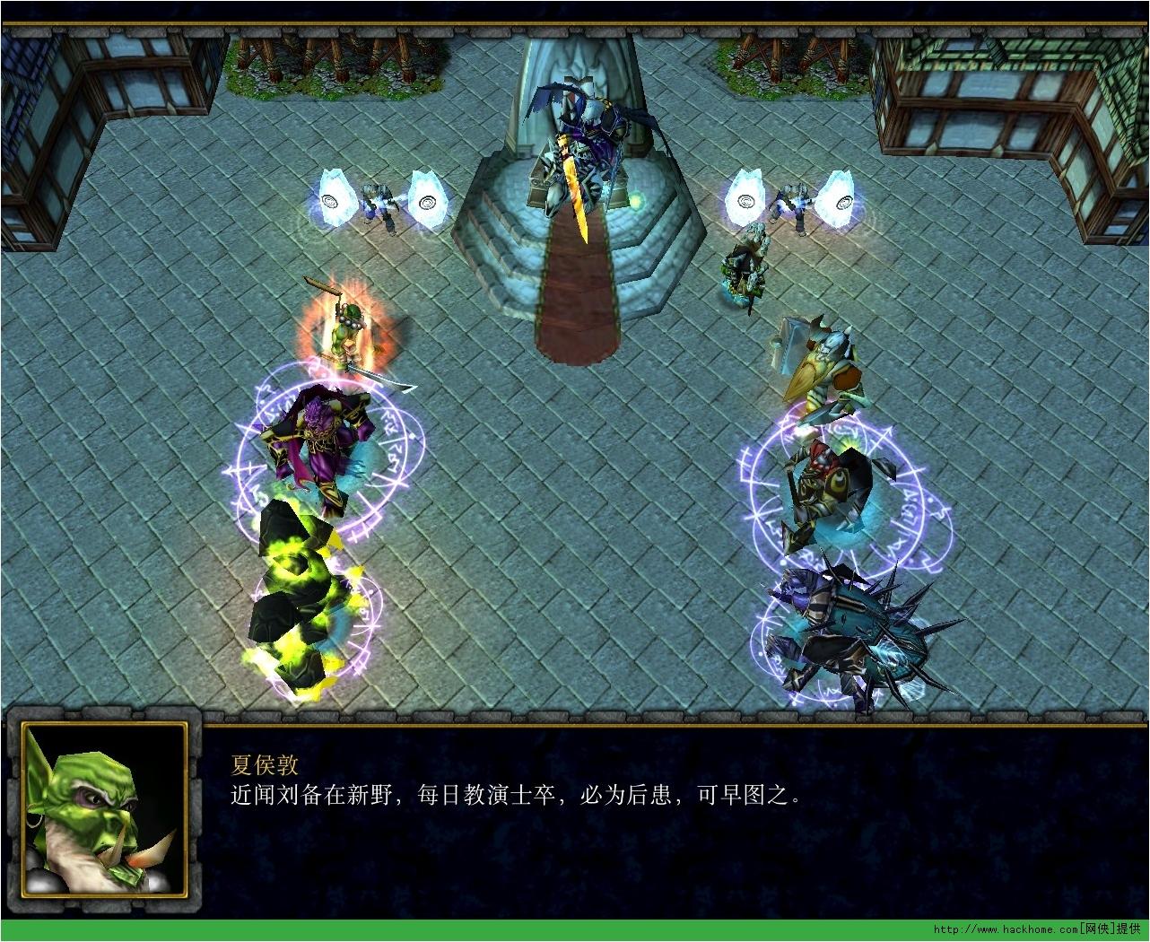 首页 电脑游戏 游戏地图 → 赤壁之战 魔兽防守地图 v1.