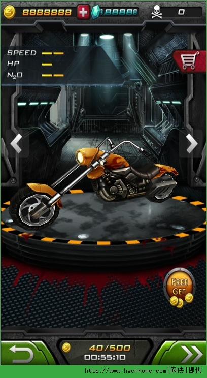 《暴力摩托2》无限钻石金币存档图1: