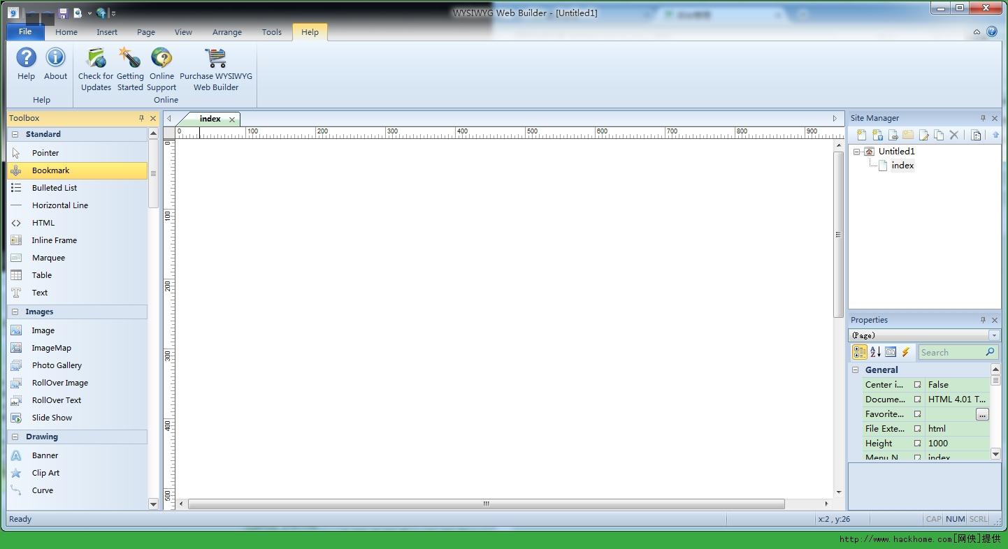 网页生成工具 WYSIWYG Web Builder 官方破解版图3: