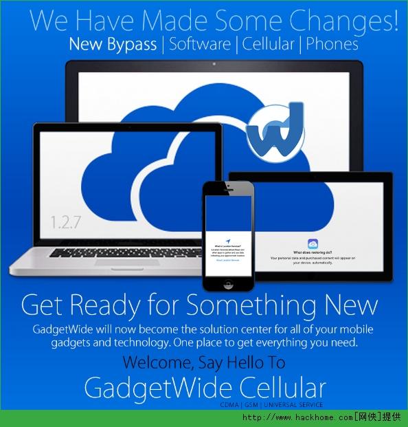GadgetWide激活被iCloud锁锁定设备教程[图]图片1