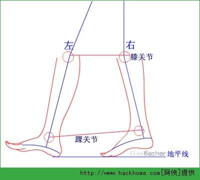 從離地到落地為一弧形運動線 下面以右腳起步為準,交替左,右腳走路12圖片